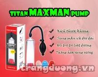 Máy tập dương vật cao cấp Titan Maxman Pump New 2016