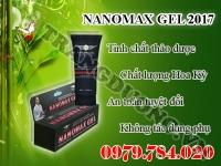 NanoMax Gel tăng kích thước dương vật
